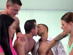 Bisexual Threesome Jizz