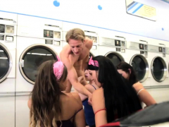 Monster Cock Fuck Teen Laundry Day