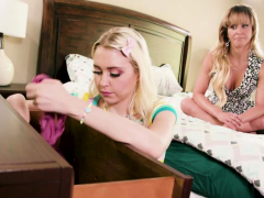 Hot Stepmom Cherie Deville Licks Chloe Cherrys Teen Pussy