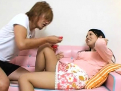 Hot Older Japanese Whore Plays With Herself Till She Comes