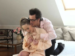 Glasses Blowjob Verified Amateurs First Time Testing