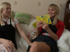 Blonde Chicks Have Fun With Toys