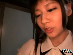 Japanese Playgirl Gets Groped And Mouth Drilled Hard