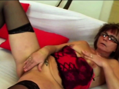 Nerdy Old Granny Takes Advantage Of Horny Lovers Big Cock