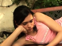 Cum Job Xxx Miho Gets Pummeled In The Backyard
