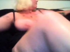 Webcams 2014 - Bbw Snow Bunny W Massive Tits Rubs One Out
