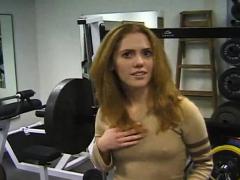 Redhead Teen Tease And Masturbate Smalltoys