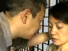 Stunning Older Japanese Nurse Gets Her Large Titties Felt Up