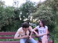 Lusty Russian Gf Kaylee Blows Big Fuck Stick