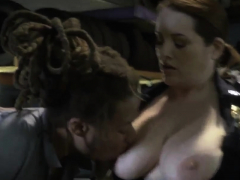 Rico Strong Blonde Milf Chop Shop Owner Gets Shut Down