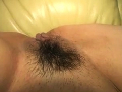 Japanese Hairy Pussy Close Up