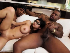 Two Arab Girls My Big Black Threesome
