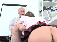 Fervent Schoolgirl Is Teased And Shagged By Older Sch60spo