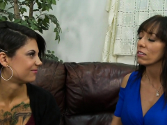 Long Shaft Surprised Two Kinky Babes