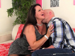 Older Leylani Wood Rides A Hard Cock