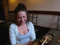 Lusty Brunette Diva Jenny Diamond Gets Hole Fingered