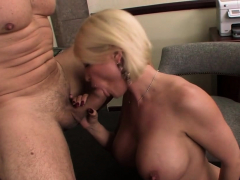 Busty Diamond Pleases A Long Dick