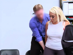 Two Blonde Hottie Shoplifter Chick Gets Punish Fucked