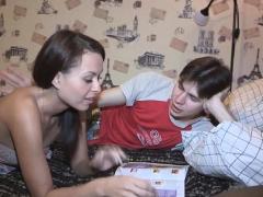 Slender Teen Russian Leyla Getting Rammed