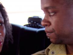 Ebony Couple Joins The Swinger House For Amateur