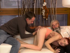 Horny Mother And Crony's Pal Unexpected Experience With
