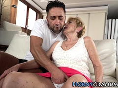 Busty Granny Fingered
