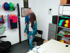 Hot Shoplifter Gianna Gem Gets Banged By Officer
