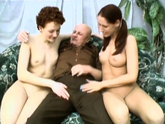 Experienced Studs Dick Is Shared During A Threesome