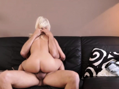 Luckiest Man Blowjob Horny Blondie Wants To Try Someone