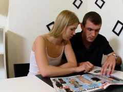 18 Videoz - Violette Pure - Fucked And Dumped For Money