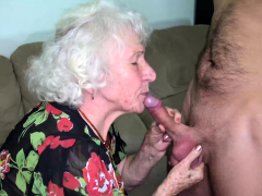Hairy Old Mom Deep Banged