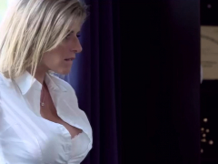 Busty Hot Milf Blows Dick
