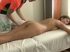 Young Teen Maddie With Short Hair Massaged And Fucked