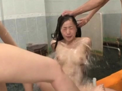 Nude Japan Bitch Screams With Dudes Fucking Her Hard