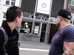 Amsterdam Whore Gets Deepthroated By Tourist