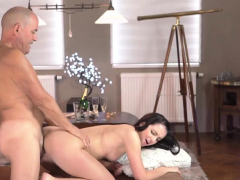 Old Man Threesome Creampie Vacation In Mountains