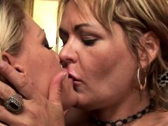 Lesbian Cougar Seduces Girl