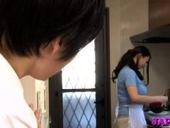 Sex-starved Nachi Kurosawa Bouncing On Dinky