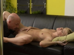 Old Man Eats Young Teen Pussy Would You Pole-dance On My