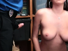 Male Cop Arrest Girl Apparel Theft