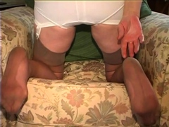 Old Dirty Chubby Granny Does Masturbate And Fun With Herself