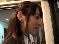 Voracious Shizuku Memori Gets Hammered From Behind