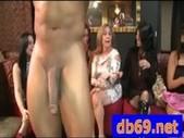 Blonde hottie fucks a stripper