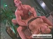 Busty nina mercedez sucks cock and gets anal fucked