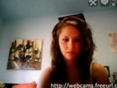 Teen showing her pussy on webcam