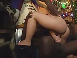 Brunette Takes A Big Black Dick!