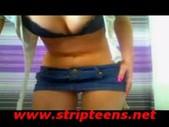 Amazing young pthc blonda dance strip tease