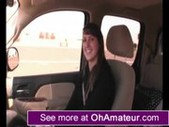 Amateur head on the road