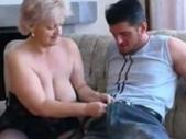 Plump Old Blonde Granny In Stockings Fucks Bbw Fat..