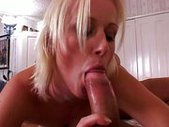 Two cocks are double the fun for her